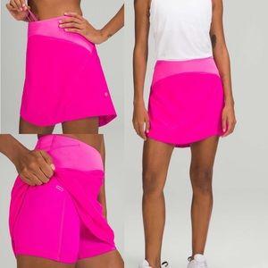 Lululemon Essential HR Running Skirt *Long - Pow Pink